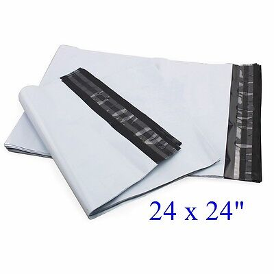 24 X 24 Poly Mailers Envelopes Plastic Mailing Bags 5 10 50 100 300