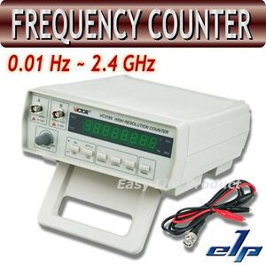 VC3165 Radio Frequency Counter RF Meter 0.01Hz~2.4GHz