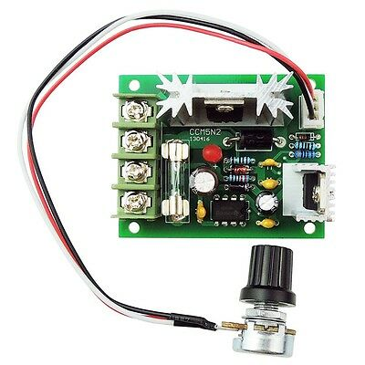 5a 12v 24v 120w Pwm Dc Motor Speed Controller Adjustabe Speed Governor With Fuse
