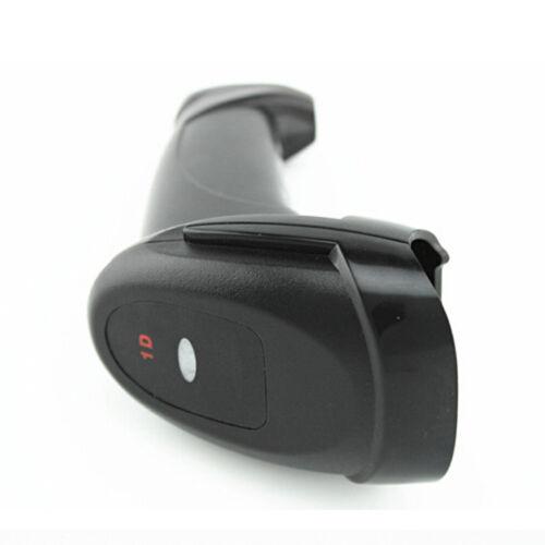 Black Wired Laser Barcode Scanner Handheld Bar Code