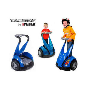 Feber Dareway 12v kids Ride on Balance Scooter - Blue