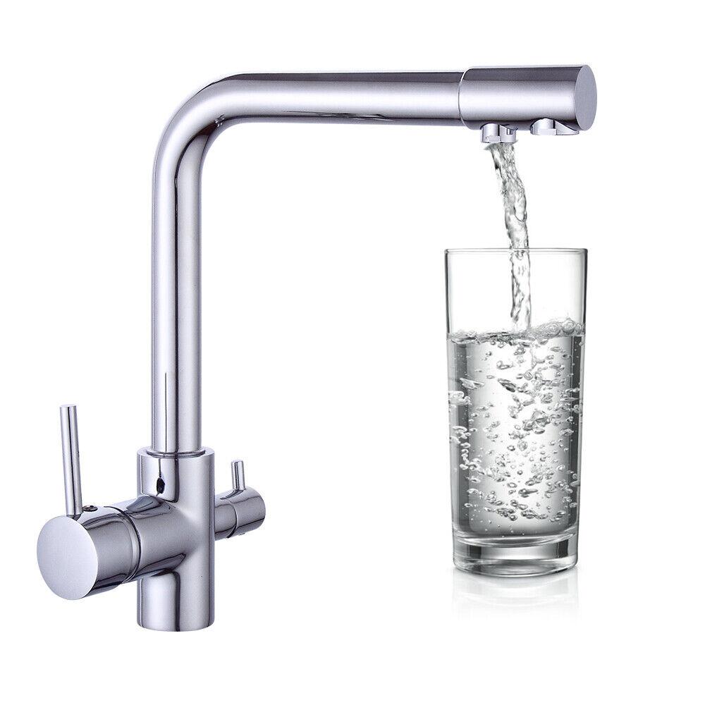 Drei Wege Wasserhahn 3 IN 1 Wasserkran Wasserfilter Armatur drehbar ...