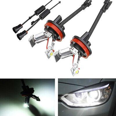 H8 LED Angel Eyes Standlicht Für BMW E60 E61 E71 E70 LCI E90 E91 X5 X6 Z4 E92