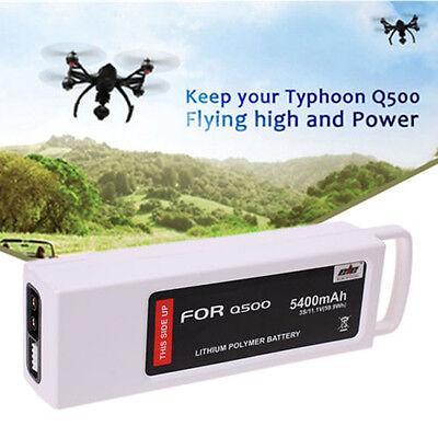 11.1V 5400mAh LiPo Battery For Yuneec Q500 4K Typhoon Quadcopter RC Drone RTF