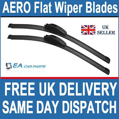 PEUGEOT 206 206SW 2001-06 AERO Flat Wiper Blades 22-22