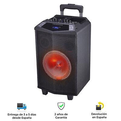 Altavoz Profesional Serie Prism, Bluetooth, 60W / RMS, USB, BT, Recargable
