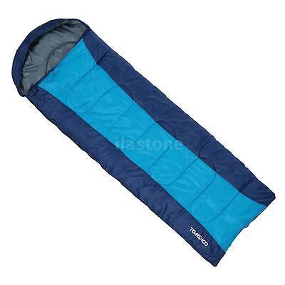 Thermal Envelope Sleeping Bag 23F  5C Outdoor Camping Travel Hiking Bag R6f1