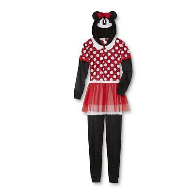 Disney Minnie Mouse Women's One-Piece Costume Pajamas Halloween