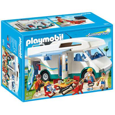 Playmobil Summer Fun Summer Camper Set - 6671