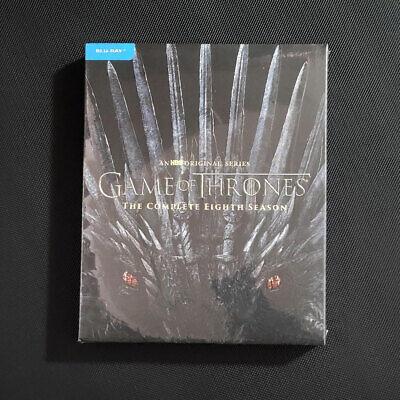 GAME OF THRONES: Season 8 Blu-ray No Digital Brand New USPS First Class US
