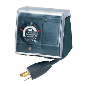 New  Intermatic P1131 Heavy Duty Above Ground Pool Pump Timer Condition: New,  with Twist Lock Plug and Receptacle