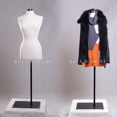 Female Size 6-8 Jersey Cover Body Form Mannequin Dress Form F68wbs-05bk