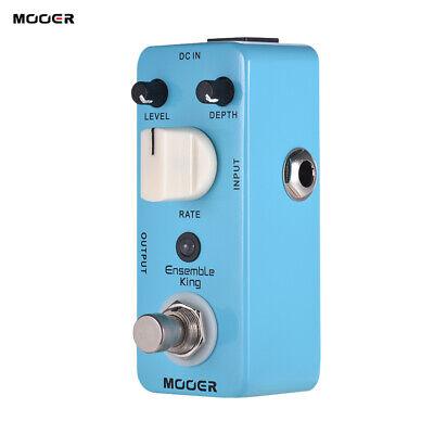 Mooer Ensemble King Analog Chorus Guitar Effects Pedal Processsor True Bypass