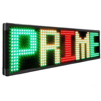 New Led 40x15outdoor Programmable Self-design Display Open Message Sign Board