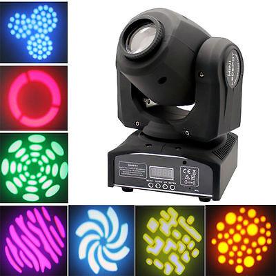 60W RGBW LED Moving Head Light New DMX512 Stage Party DJ Wash Beam Lighting 9/11