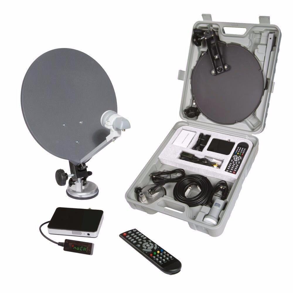 Portable CARAVAN CAMPING 1080p HD Satellite Receiving Kit - NEW