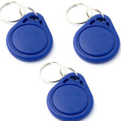 10pcs Rfid Sensor Proximity Card Ic Key Tags Keychain 13.56mhz Us