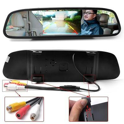 4 3  Car Tft Lcd Mirror Monitor For Reverse Car Rear View Backup Camera Parking