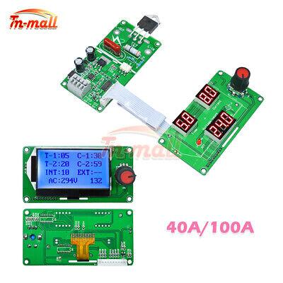 40a100a Lcd Led Digital Pulse Encoder Spot Welder Machine Time Control Module