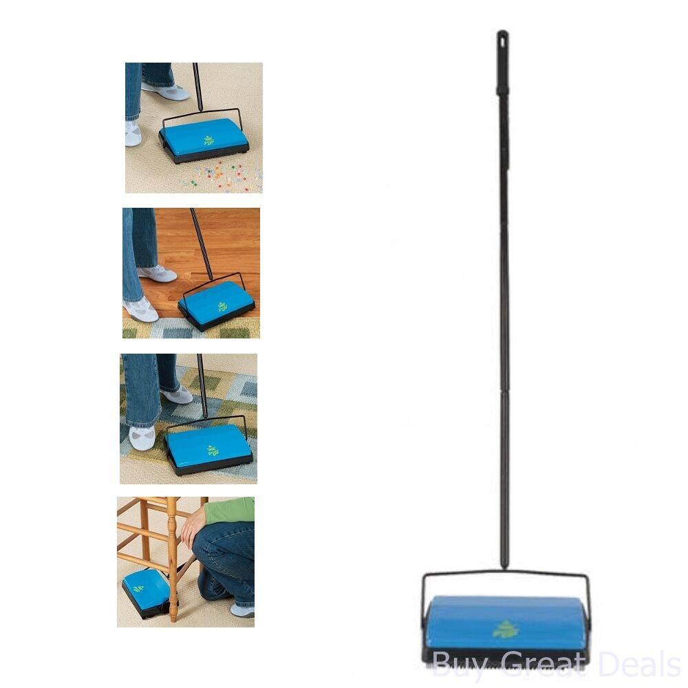 Details about Bissell Sweep Up Carpet Floor Sweeper Cordless Floor Rug Broom Pet Hair Cleaning