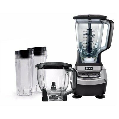Ninja Supra Food Processor and Blender Kitchen System (Certified Refurbished)