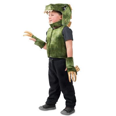Child Jurassic Green T-Rex Dino Costume Vest - Baby Dino Costume