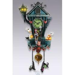 Bradford Exchange Tim Burton's The Nightmare Before Christmas Cuckoo Clock