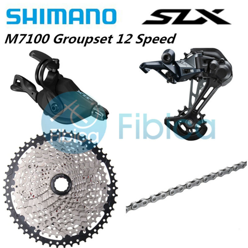New 2021 Shimano SLX M7100 12 speed Upgrade Drivetrain Groupset 11-50t