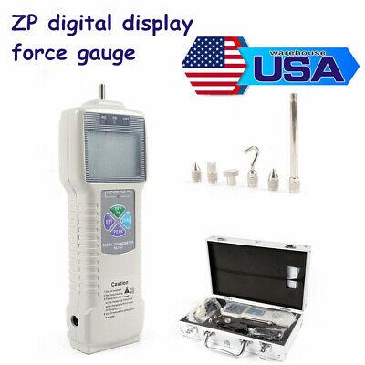 Digital Force Usb Push Pull Gauge Tester Dynamometer Meter Thrust Tensile Track