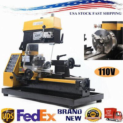 3-in-1 Lathe Machine Multi-function Machine Drilling And Milling Lathe Machine