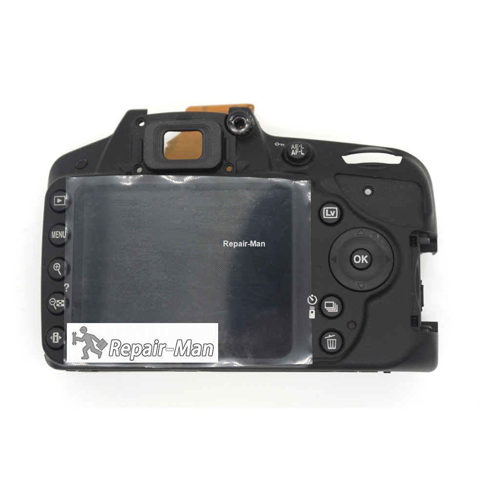 Details about D3200 Rear Cover With LCD And Key Button Camera Repair Parts  For Nikon
