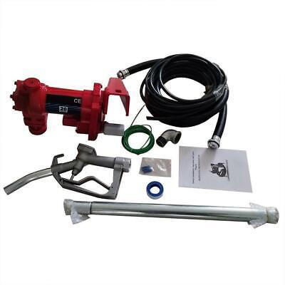 Fuel Transfer Pump 20 Gpm Diesel Gas Gasoline Kerosene 36.96ft Max. Total Head