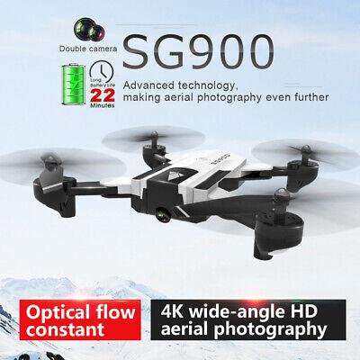 USA SG900 RC Drone Camera 4K 22mins Flight Time Quadcopter Positioning+Handbag