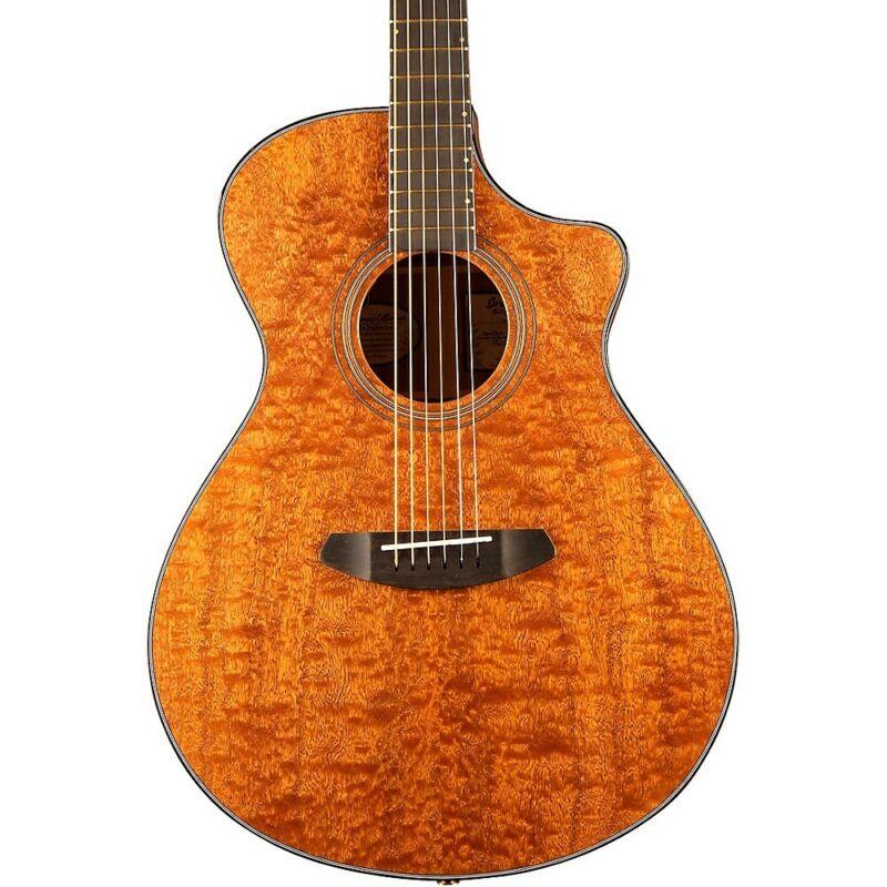 Breedlove Congo Figured Sapele Concert CE Acoustic-Electric Guitar Natural