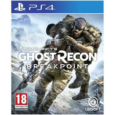 GHOST RECON BREAKPOINT PS4 NUOVO SIGILLATO PAL ITALIANO PLAYSTATION 4 SONY DVD