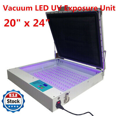 Tabletop Precise 20 X 24 80w Vacuum Led Uv Exposure Unit Screen Equipment