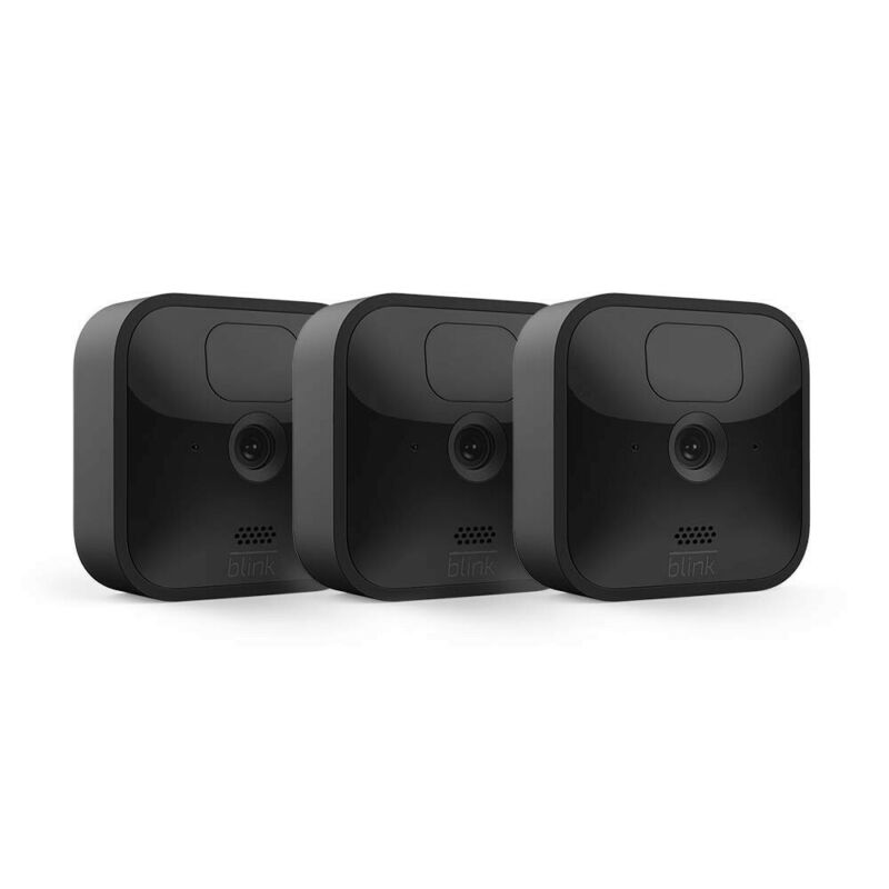 All New Blink Outdoor Security Camera System – 3 Camera Kit