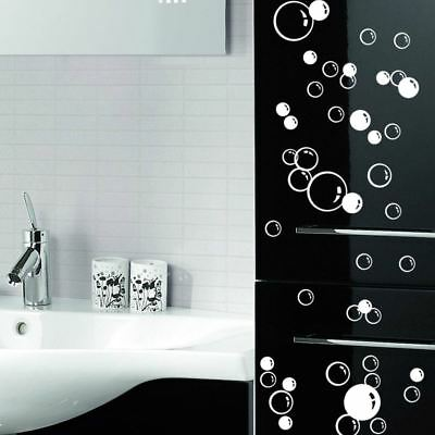 Home Decoration - 86 Floating Bubble Wall Paper Decal Bathroom Tile Window Decoration Art Stickers