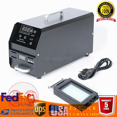 110v Self Inking Flash Stamp Seal Maker Photosensitive Seal Stamping Machine