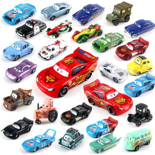 Mattel Disney Pixar Cars Tank Coat No.36 Racers 1:55 Diecast Vehicles Toys Loose