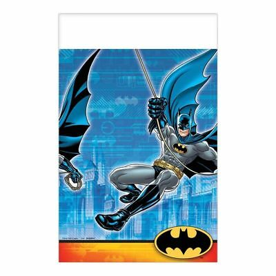 Batman Amscan Party Supplies Plastic Tablecover 54