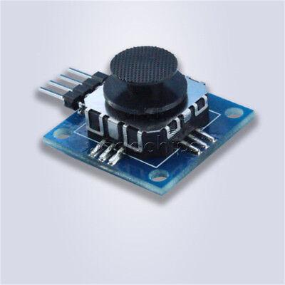 New 3v-5v Psp 2-axis Analog Thumb Game Joystick Module For Arduino Psp