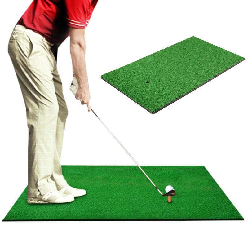 Indoor 10mm  Golf Practice Grass Mat Backyard Training Hitting Golf Mat With Tee