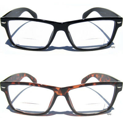 BIFOCAL LENS READING EYE GLASSES Retro Style Design Readers Eyewear