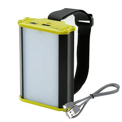 Rechargeable LED Camping Lantern 330lm Outdoor Light Tent Night Lamp Power Bank