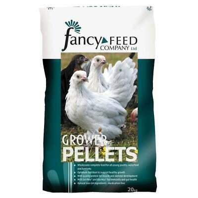 20kg Fancy Feeds Grower Pellets Feed for Ducklings Goslings & Growing Poultry
