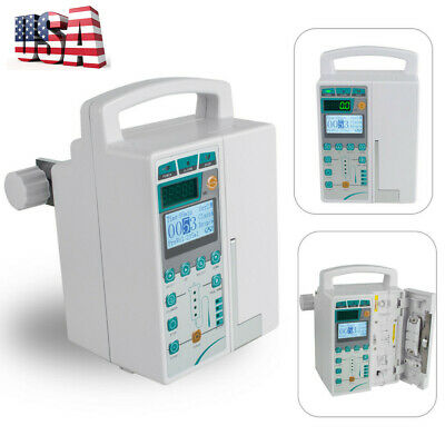 Promotional Iv Fluid Infusion Pump Machine Audible Visual Alarm Equipment A