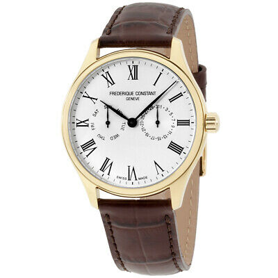 Frederique Constant Classics Quartz Movement Silver Dial Men's Watch FC-259WR5B5