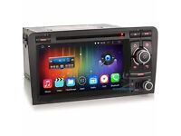 AUDI A3 S3 Android AUDI A3 Car Dvd Player /internet / Quad Core Full Sat Nav Touch Screen