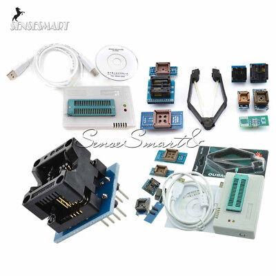 Tl866ii Plus Programmer Usb Eprom Bios 7 Adapters Socket Extractor Sop8 Dip8